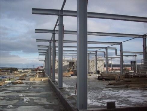 fremstilling og montage af stålkonstruktioner